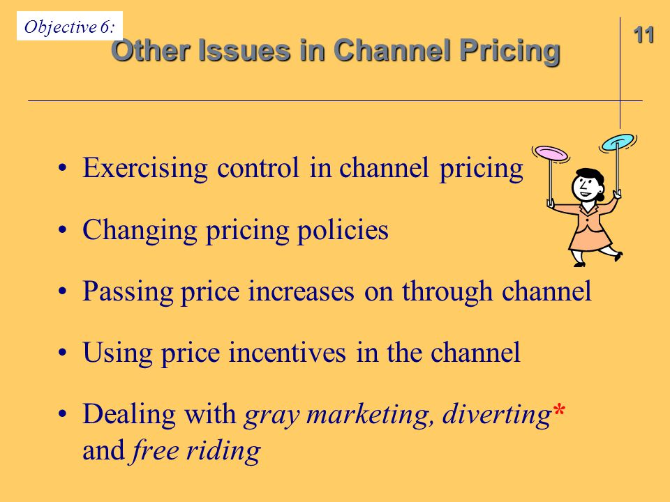 Other Issues in Channel Pricing