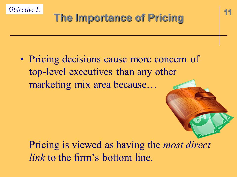 The Importance of Pricing