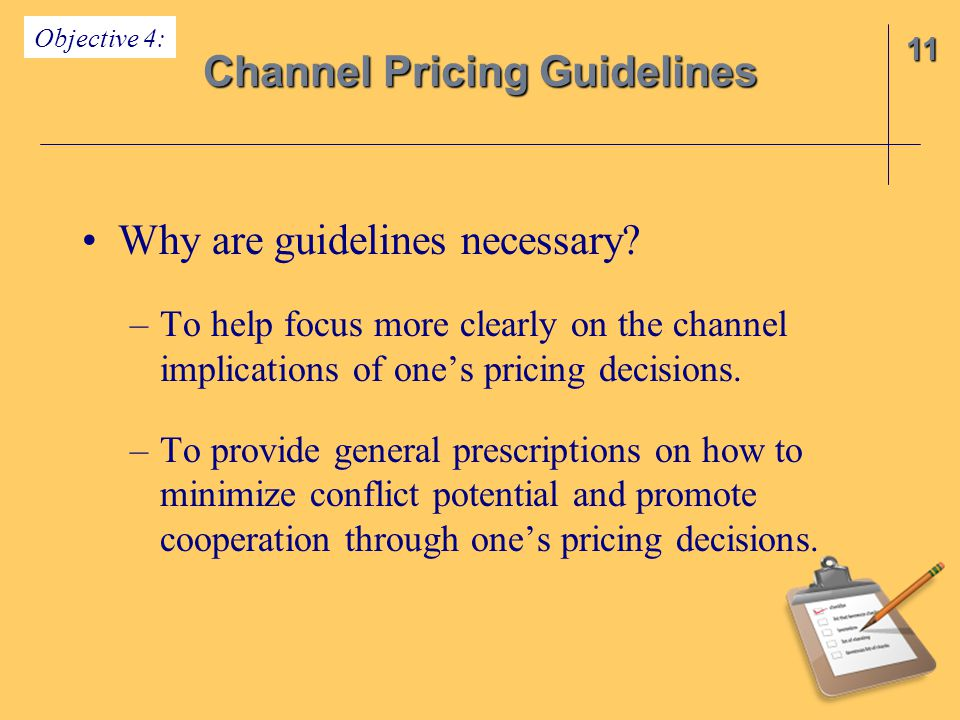 Channel Pricing Guidelines