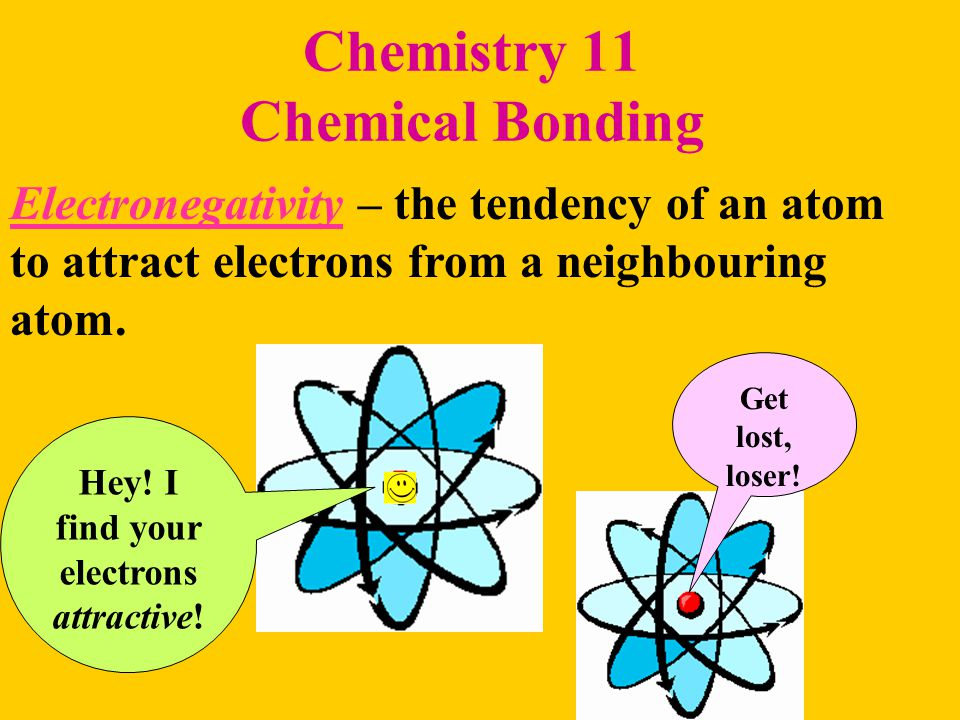 Chemistry 11 Chemical Bonding