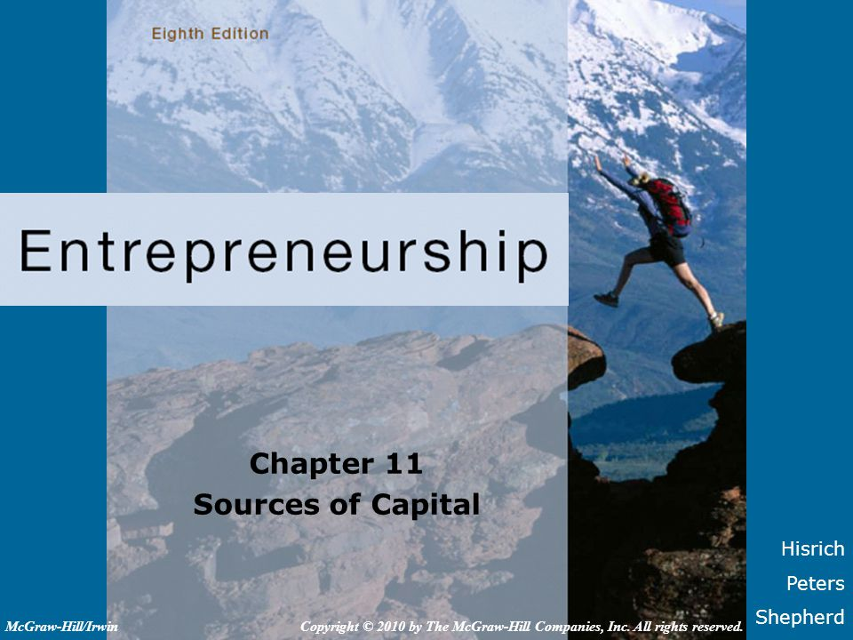 Chapter 11 Sources of Capital