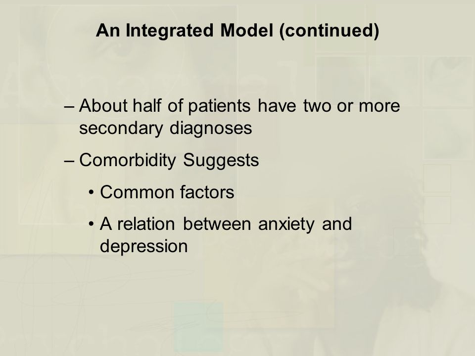 An Integrated Model (continued)