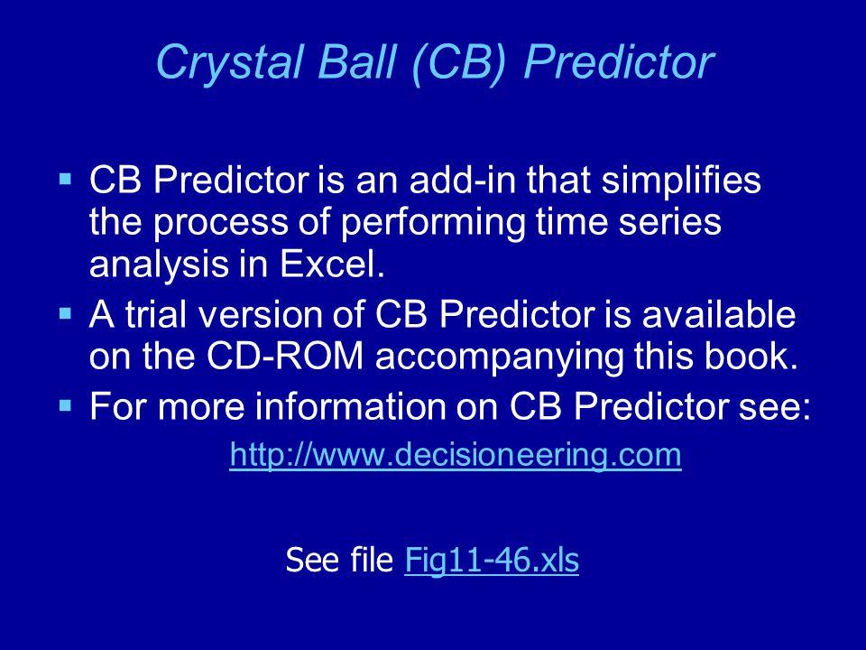 Crystal Ball (CB) Predictor