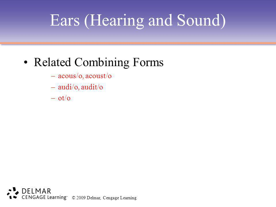 Ears (Hearing and Sound)