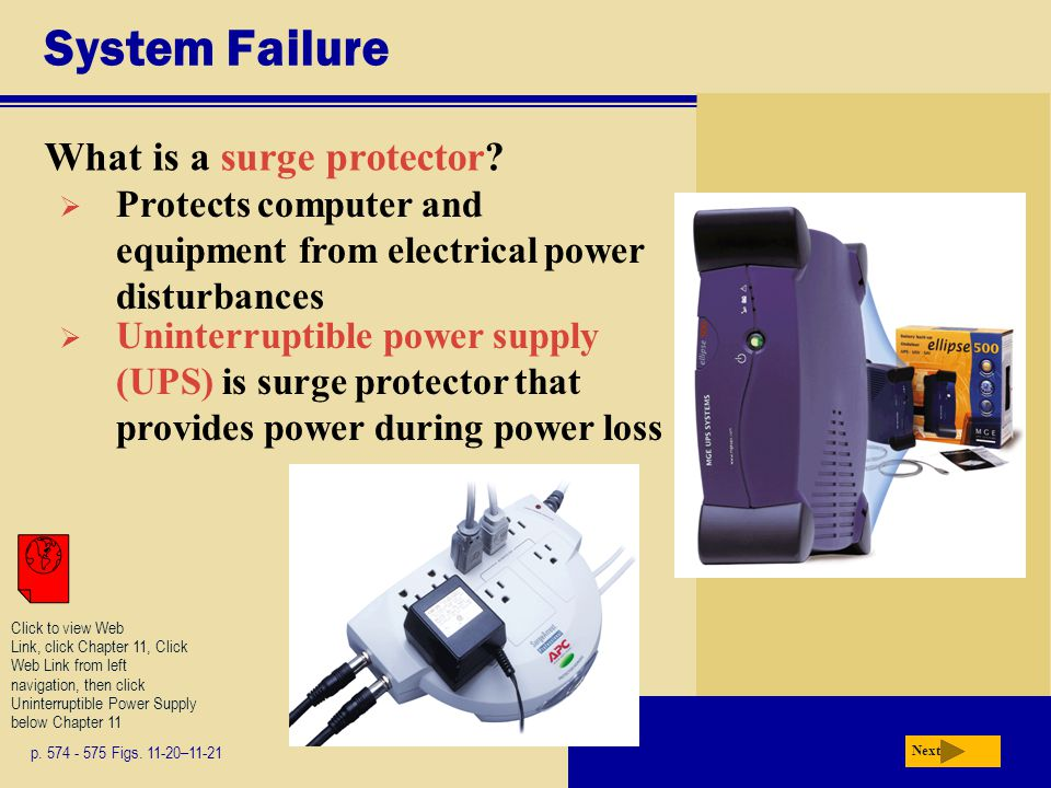 System Failure What is a surge protector