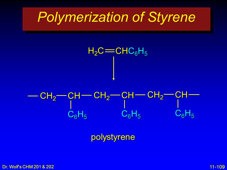 Polymerization of Styrene