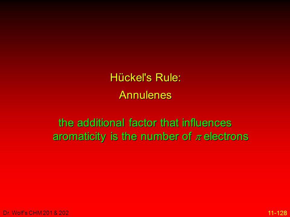 Hückel s Rule: Annulenes