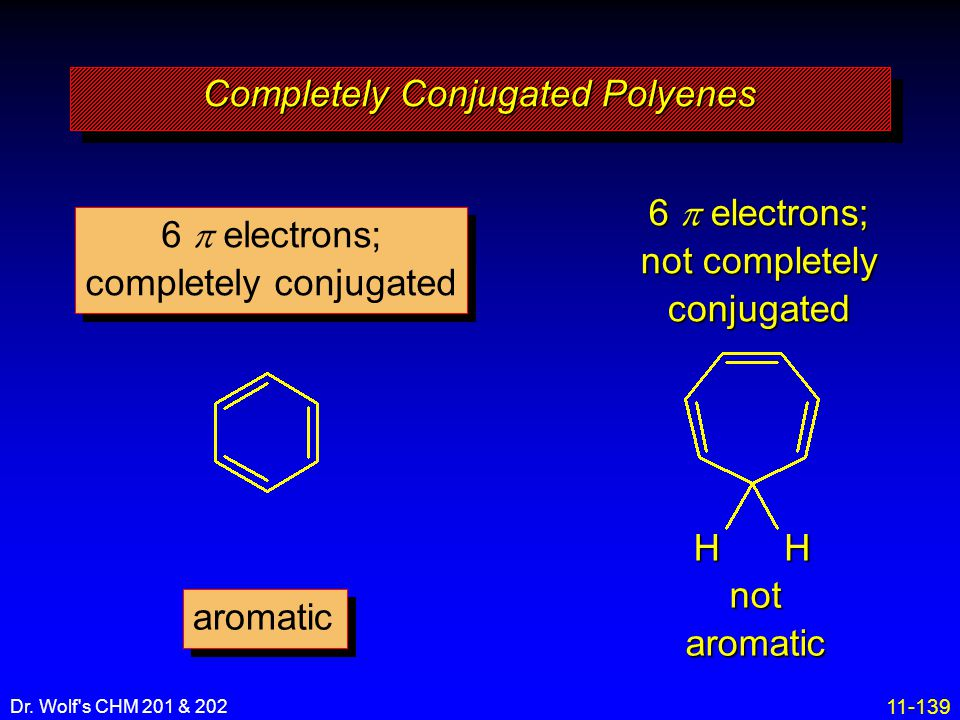 Completely Conjugated Polyenes