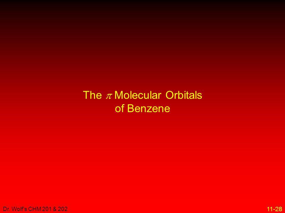 The p Molecular Orbitals of Benzene