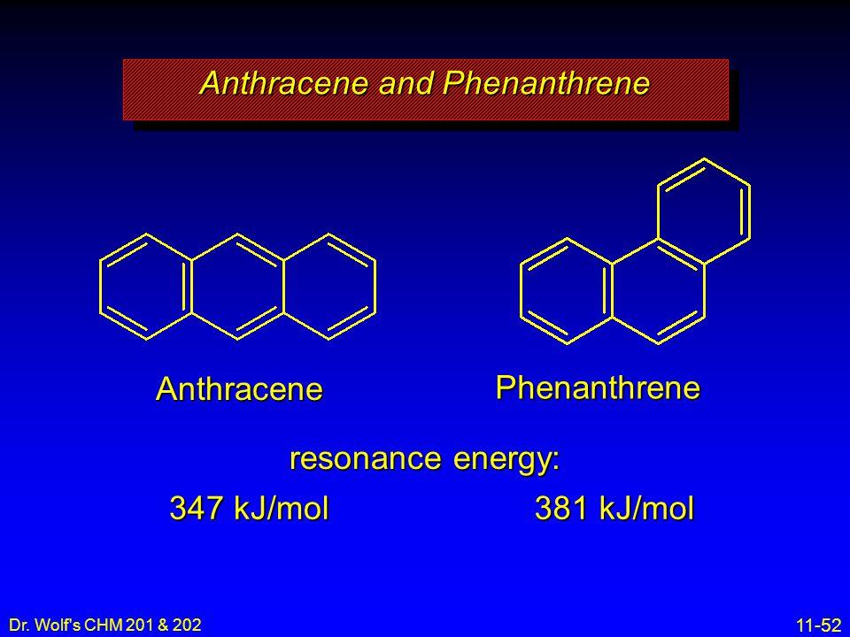 Anthracene and Phenanthrene