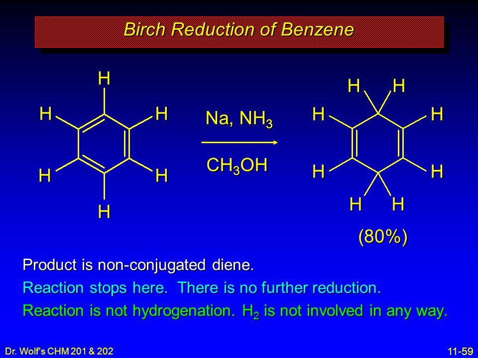 Birch Reduction of Benzene
