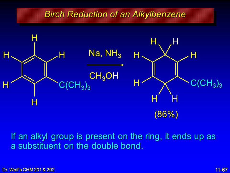Birch Reduction of an Alkylbenzene