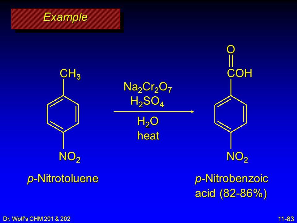 p-Nitrobenzoic acid (82-86%)
