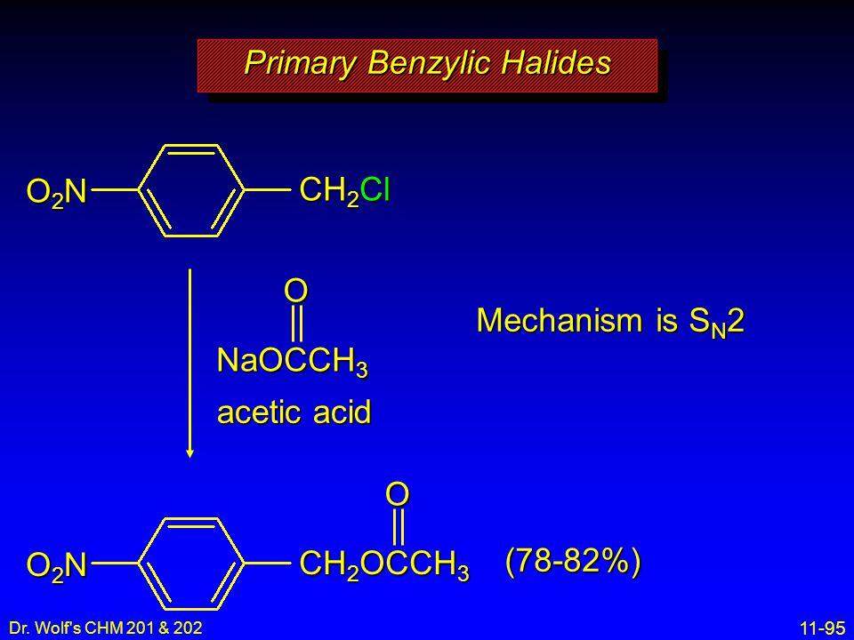 Primary Benzylic Halides