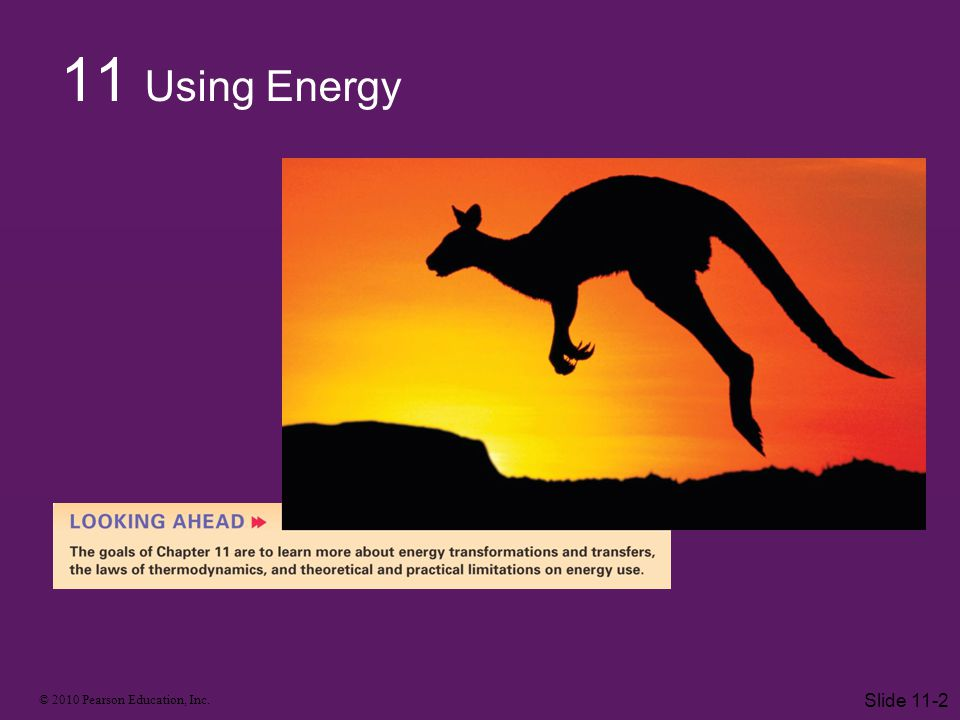 11 Using Energy Slide 11-2