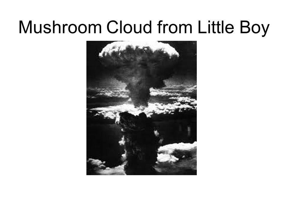 Mushroom Cloud from Little Boy