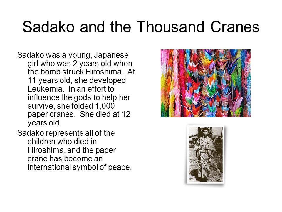 Sadako and the Thousand Cranes
