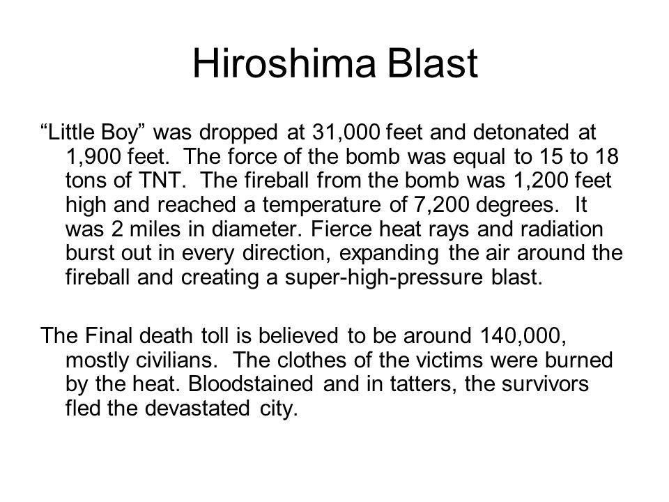 Hiroshima Blast