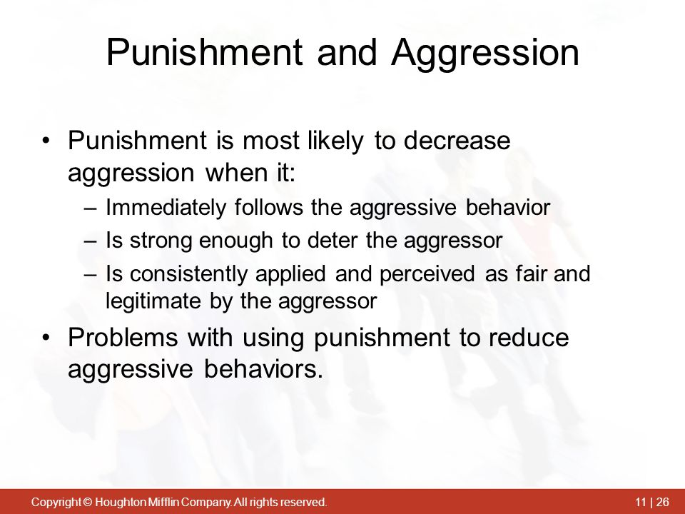 Punishment and Aggression