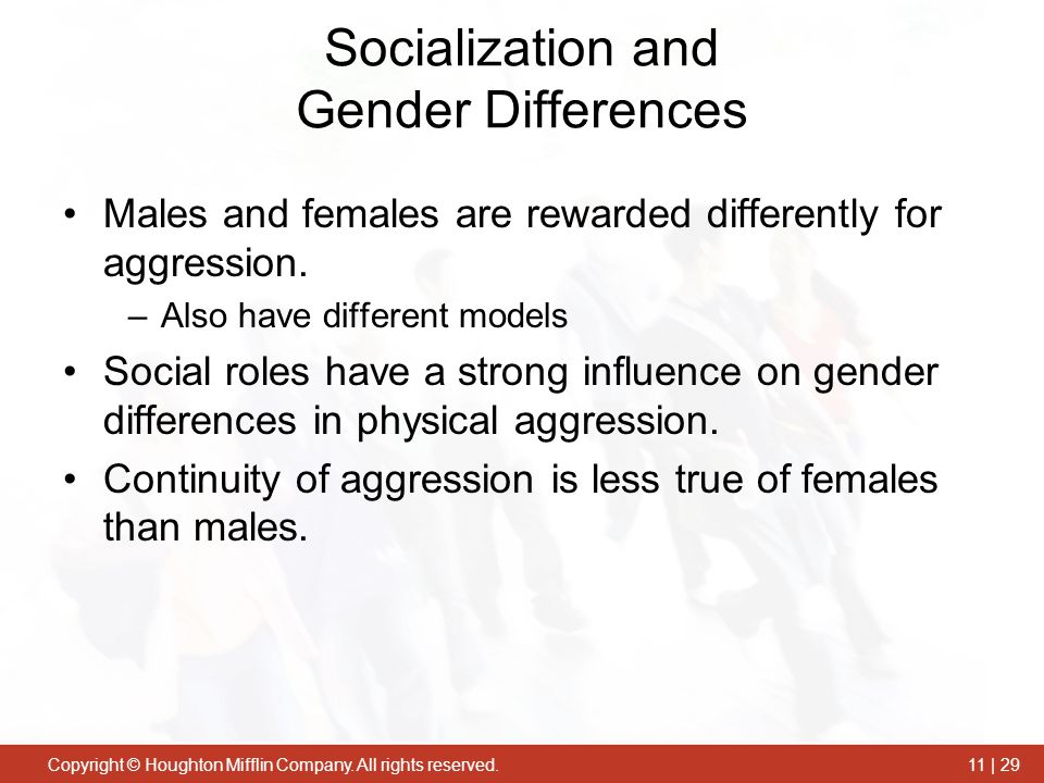 Socialization and Gender Differences