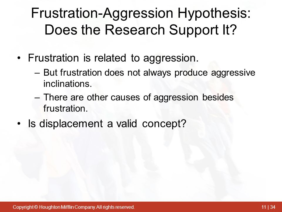 Frustration-Aggression Hypothesis: Does the Research Support It