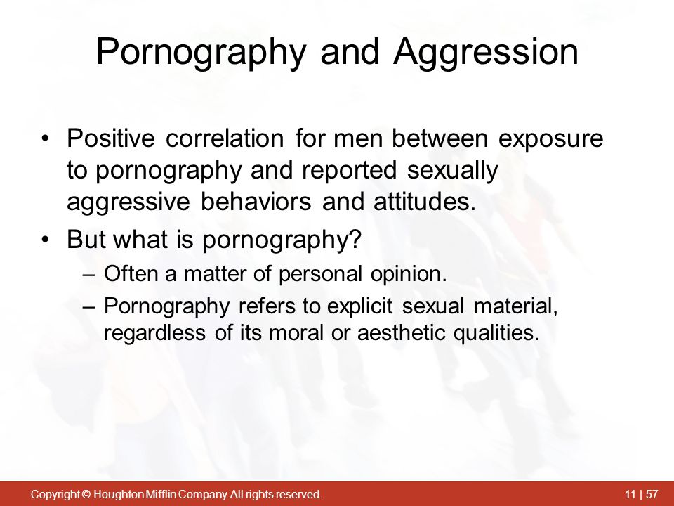 Pornography and Aggression