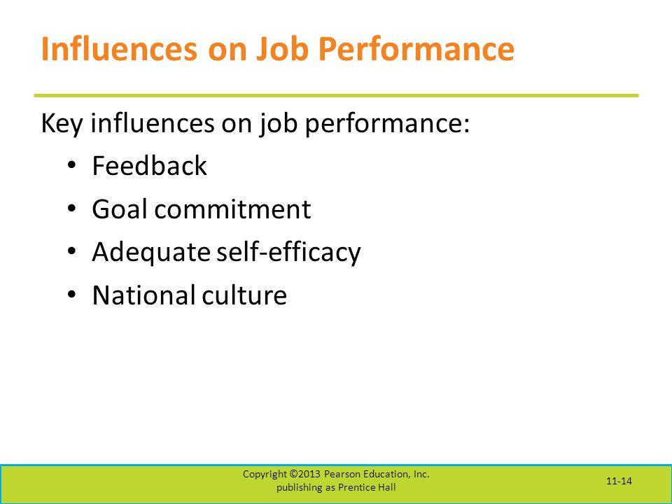 Influences on Job Performance
