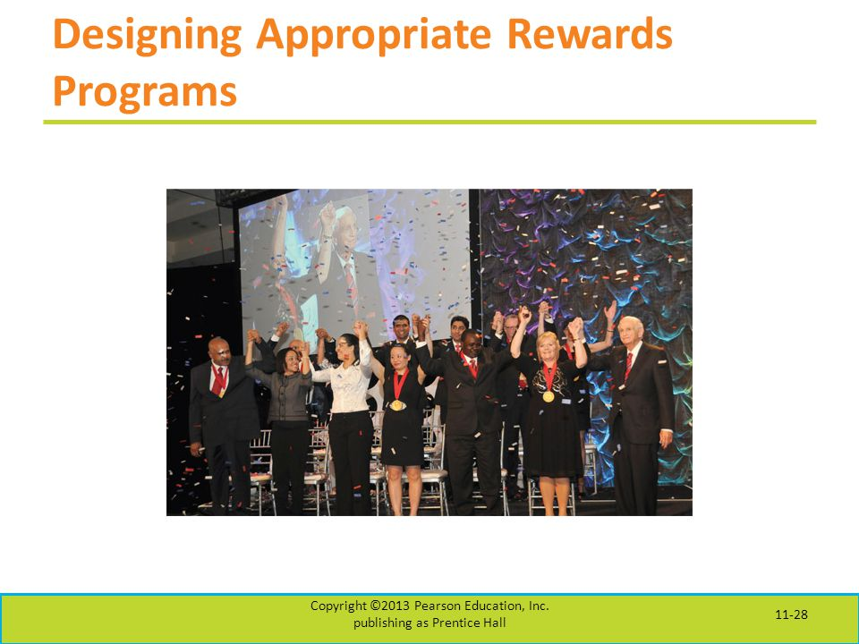 Designing Appropriate Rewards Programs