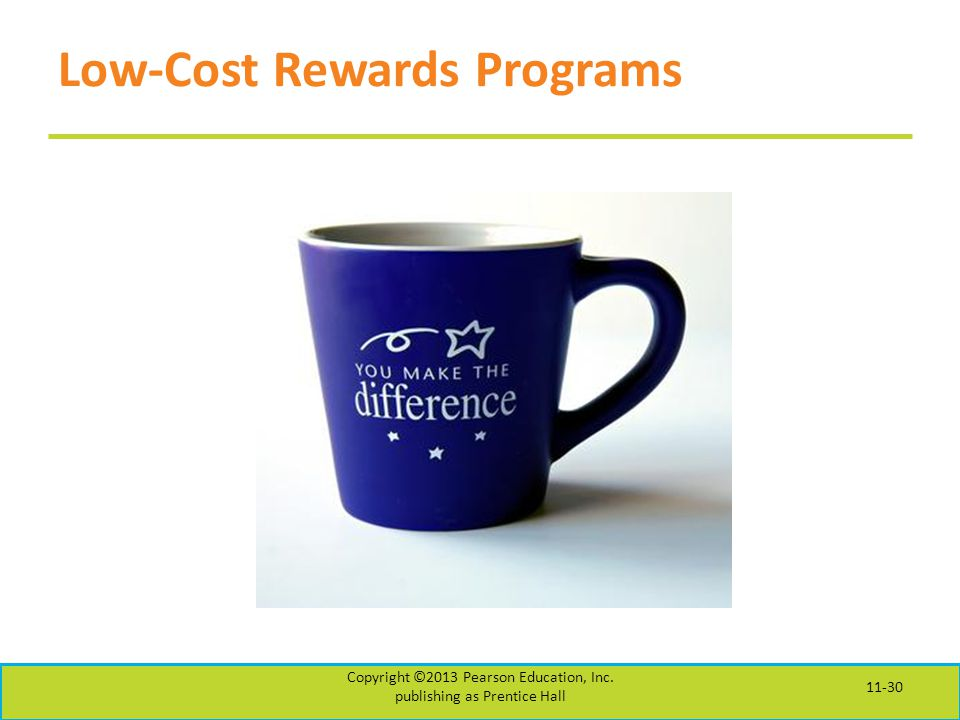 Low-Cost Rewards Programs
