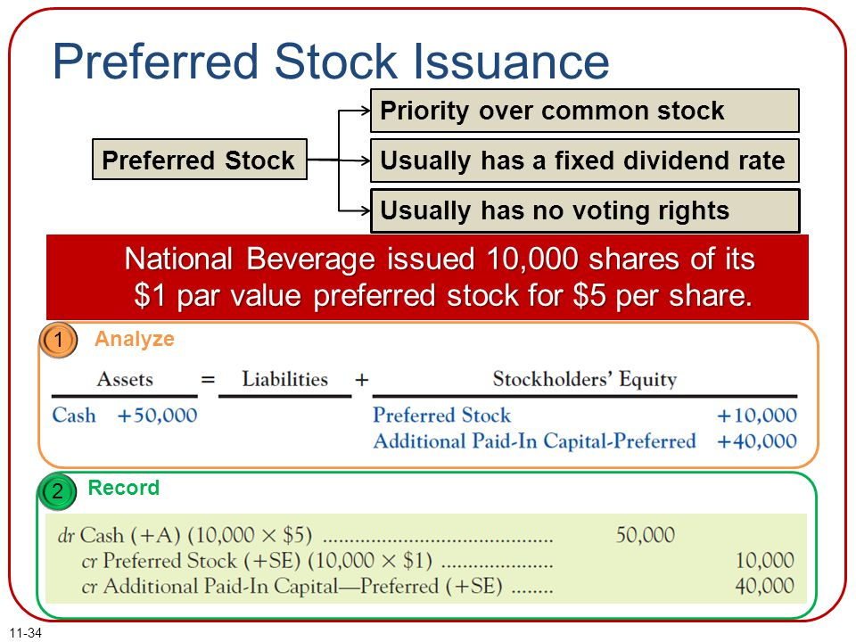 Preferred Stock Issuance