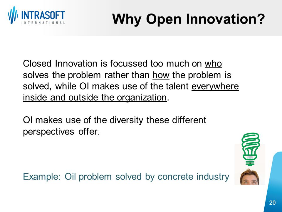 Why Open Innovation