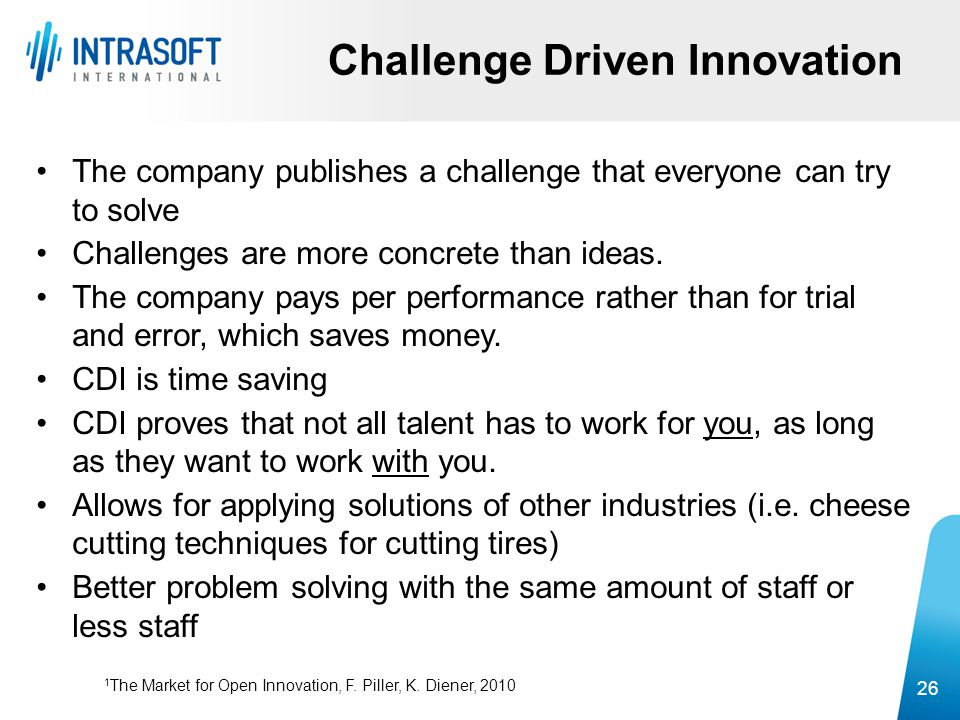 Challenge Driven Innovation