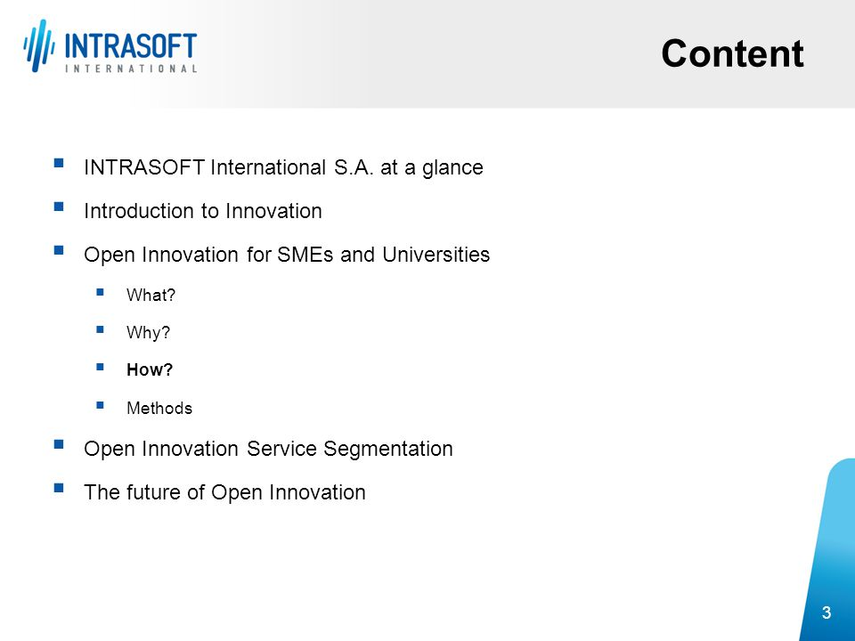 Content INTRASOFT International S.A. at a glance