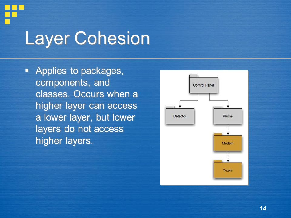 Layer Cohesion