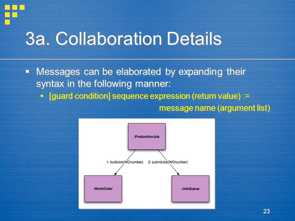 3a. Collaboration Details