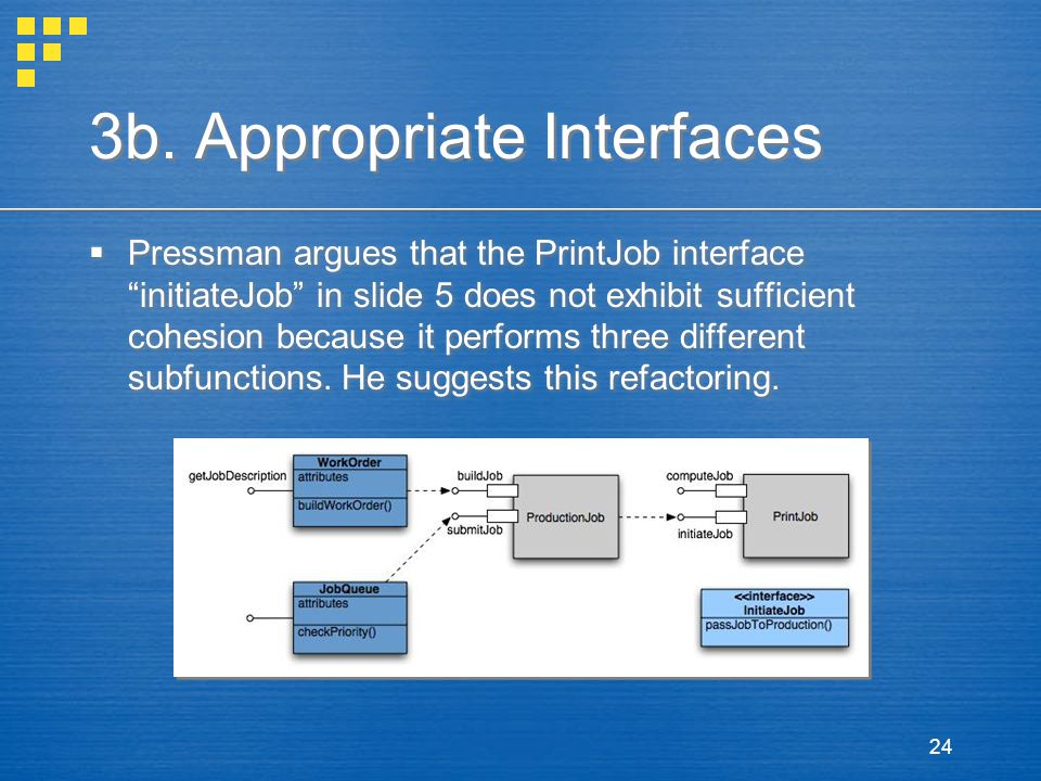 3b. Appropriate Interfaces