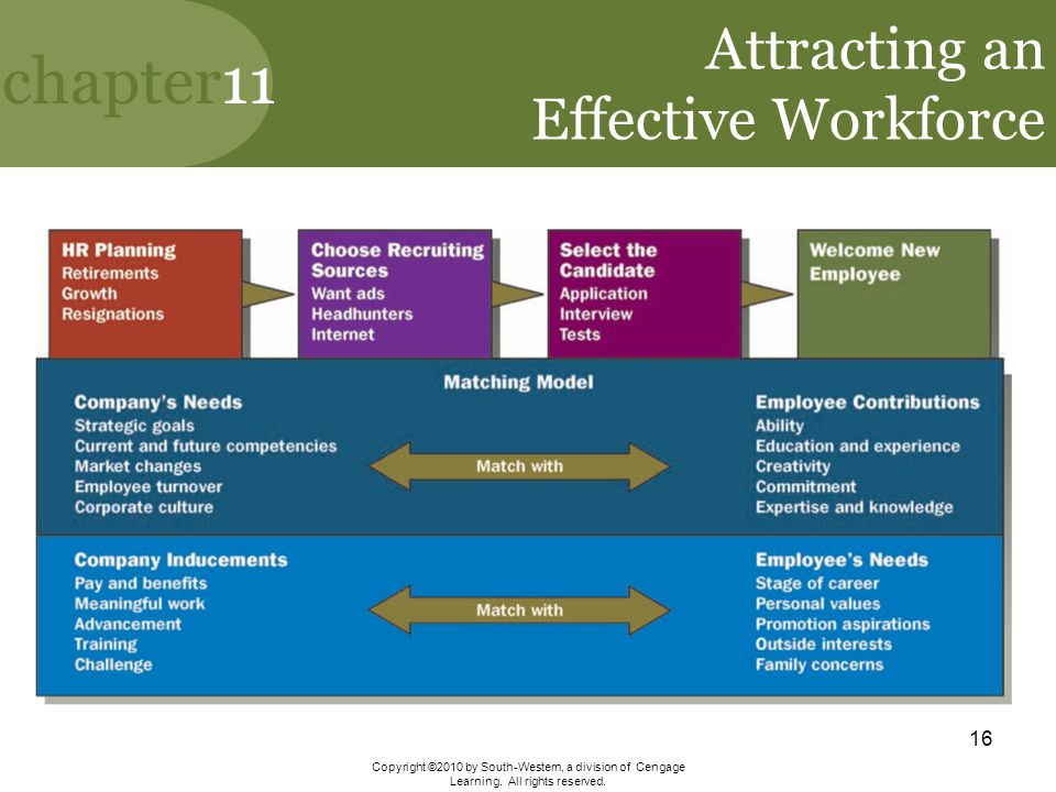 Attracting an Effective Workforce