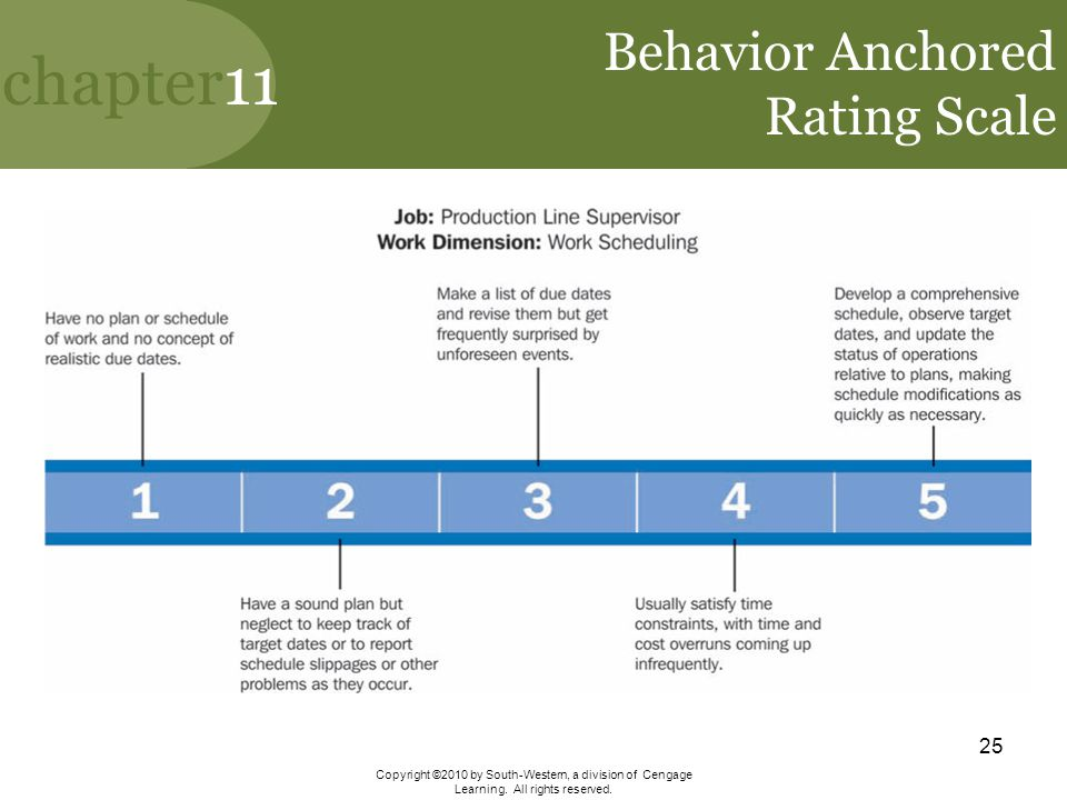 Behavior Anchored Rating Scale