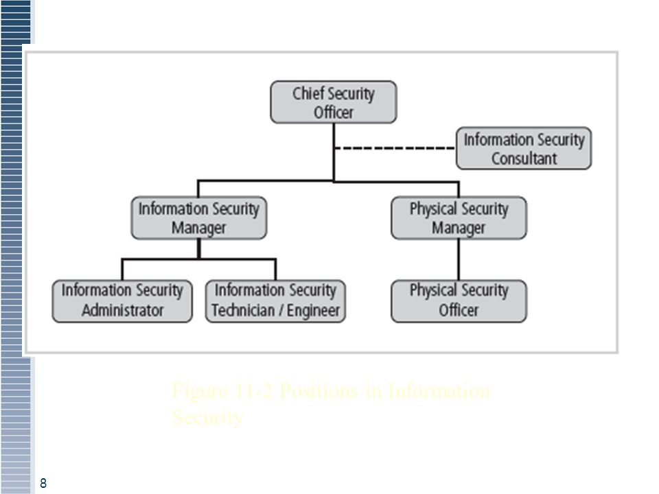 Figure 11-2 Positions in Information Security