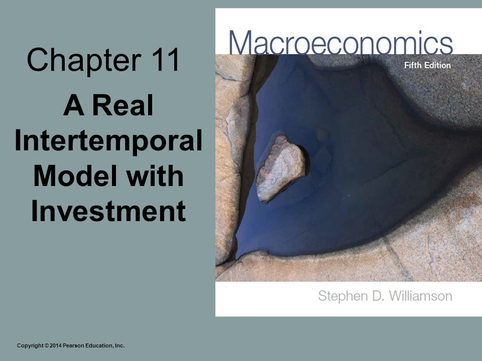 A Real Intertemporal Model with Investment