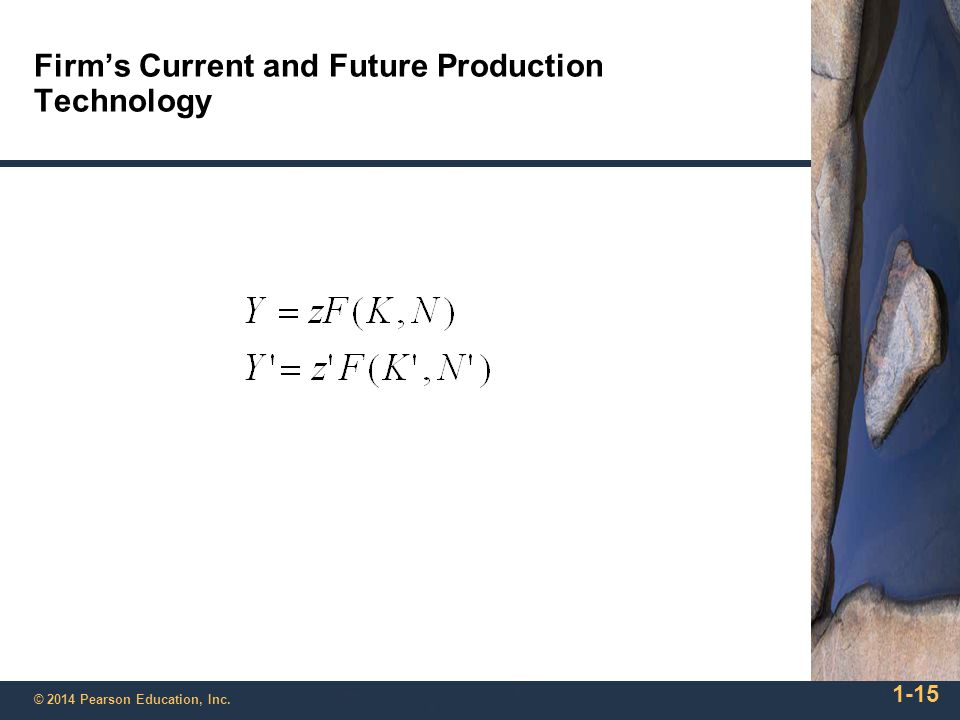 Firm's Current and Future Production Technology