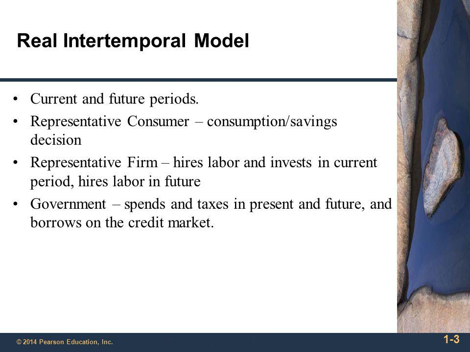 Real Intertemporal Model