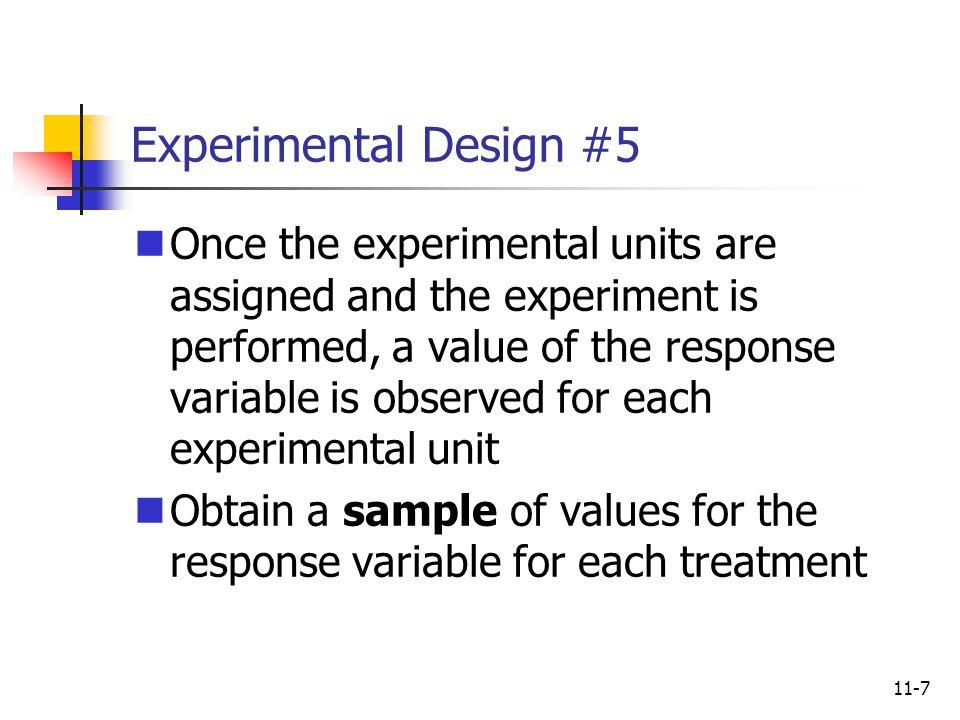 Experimental Design #5