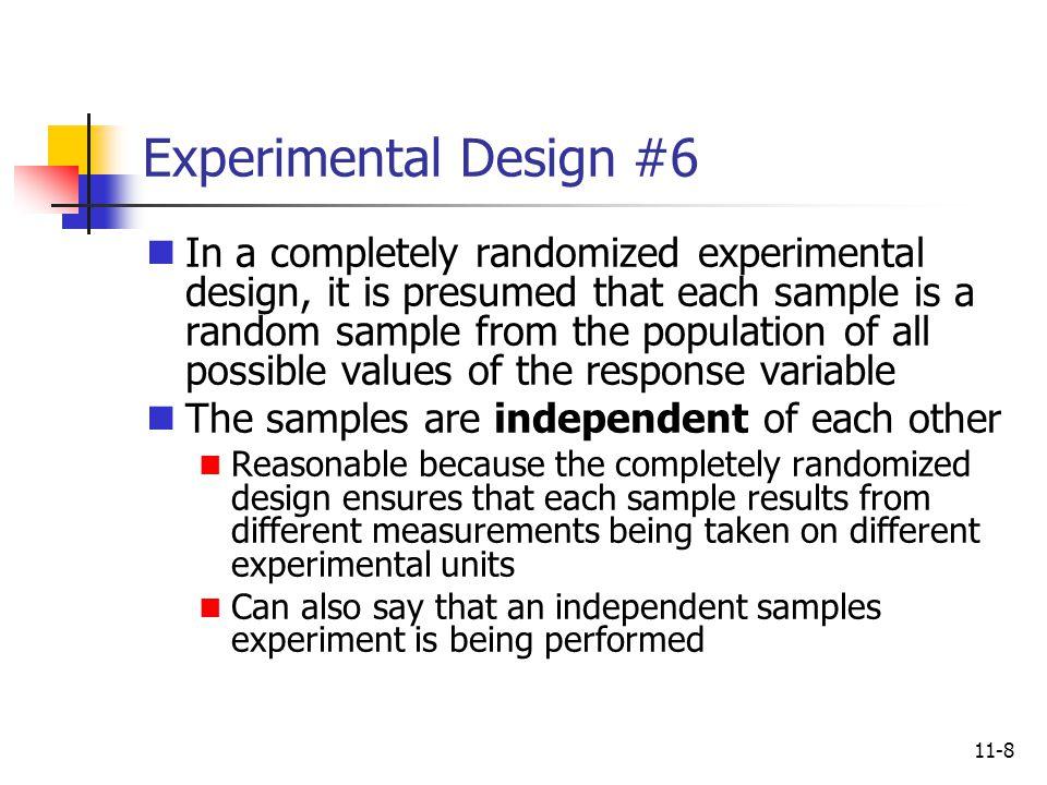Experimental Design #6