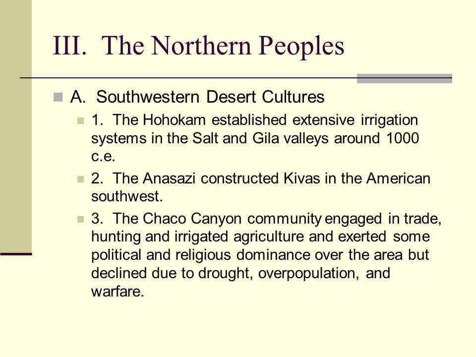 III. The Northern Peoples