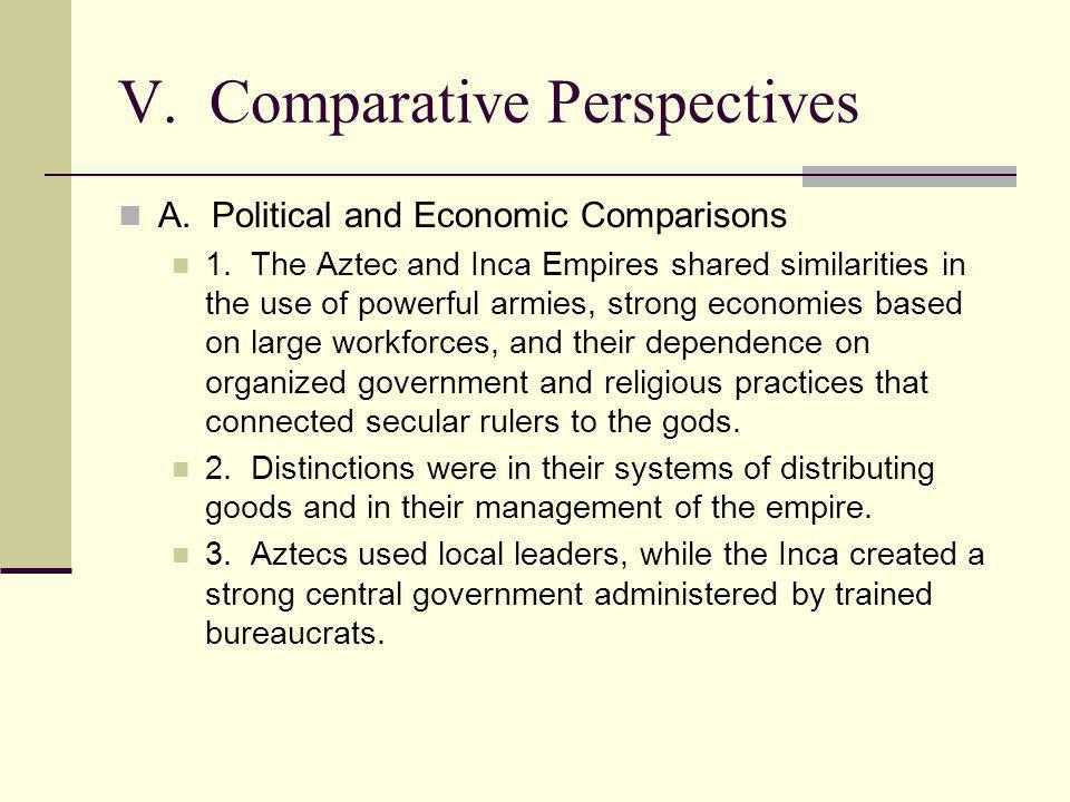 V. Comparative Perspectives