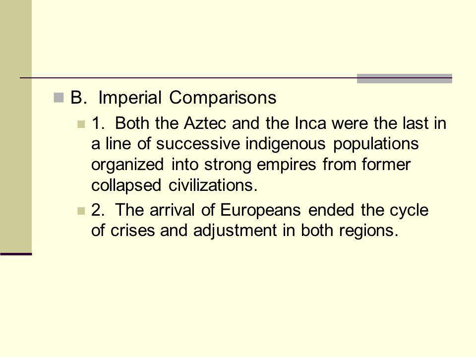 B. Imperial Comparisons