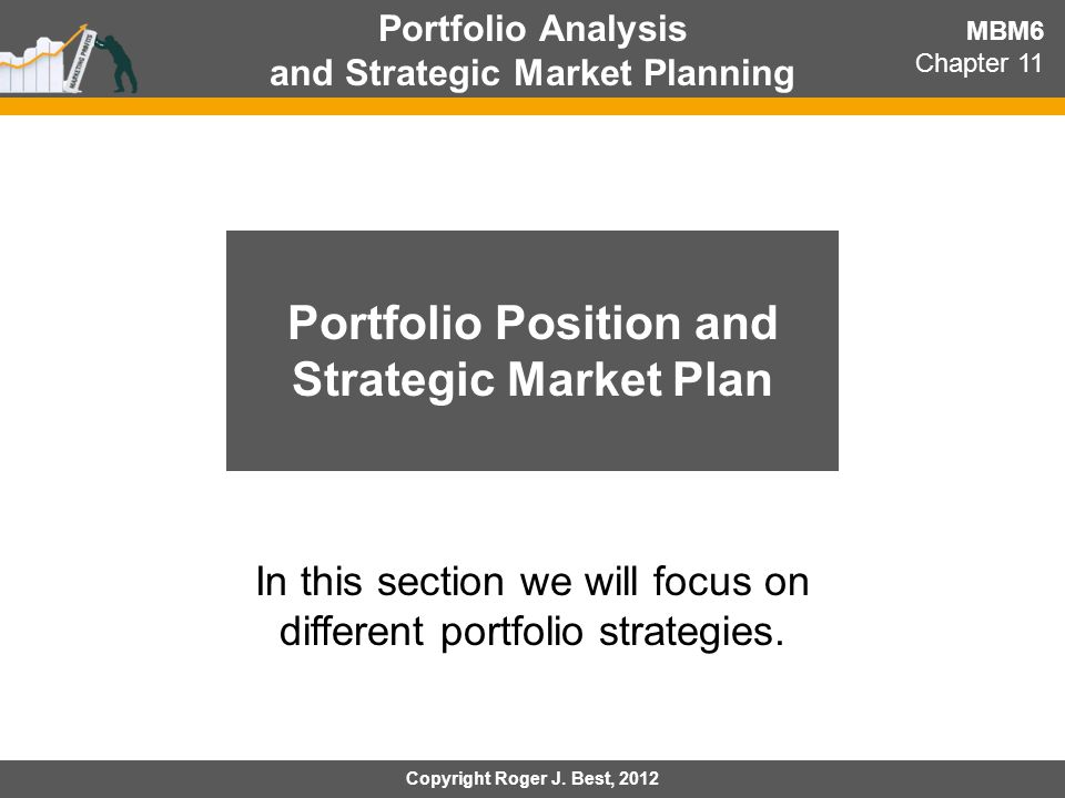 Portfolio Position and Strategic Market Plan