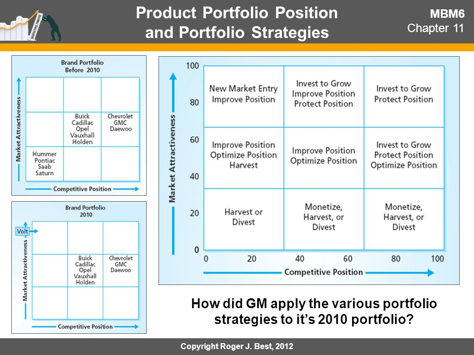 Product Portfolio Position and Portfolio Strategies