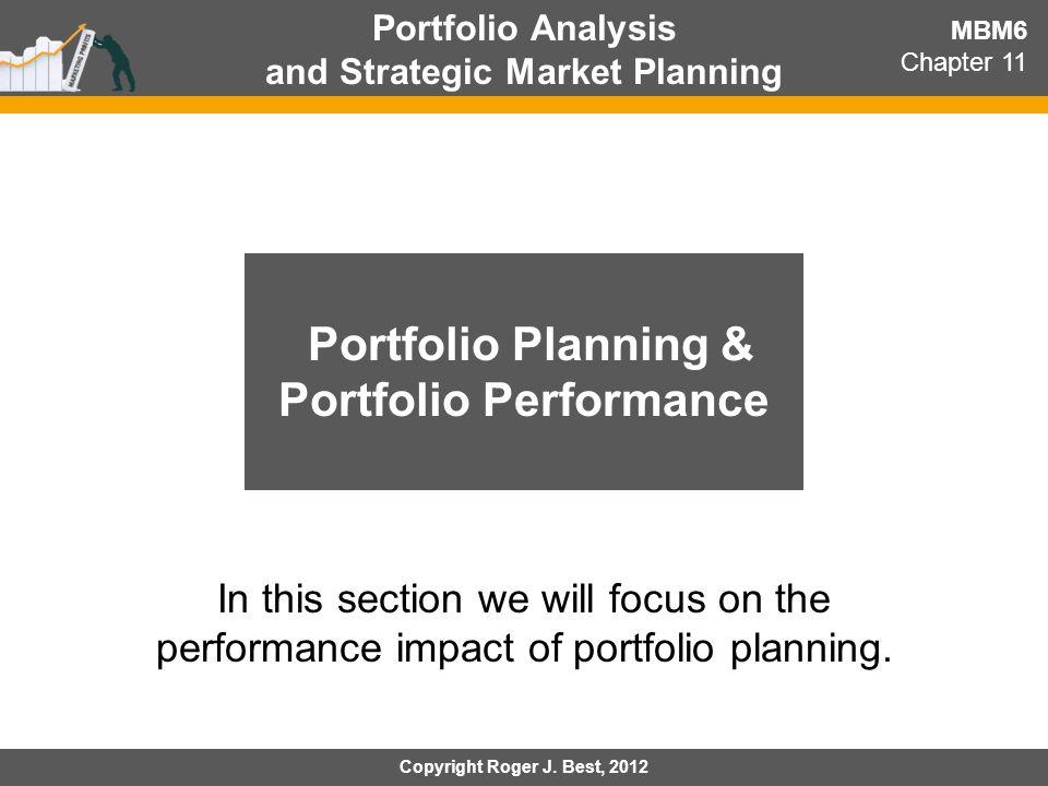 Portfolio Planning & Portfolio Performance